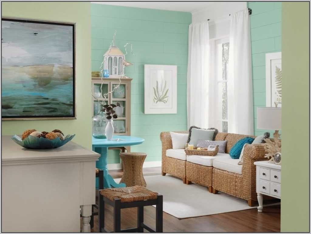 10 lovable two tone living room paint ideas
