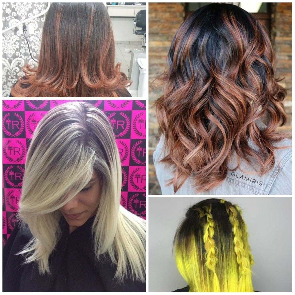 two-tone hair color ideas | new hair color ideas & trends for 2017