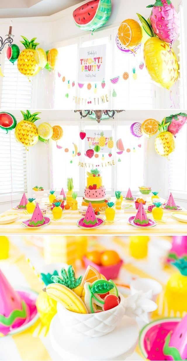 two-tti fruity birthday party: blakely turns 2! (pizzazzerie