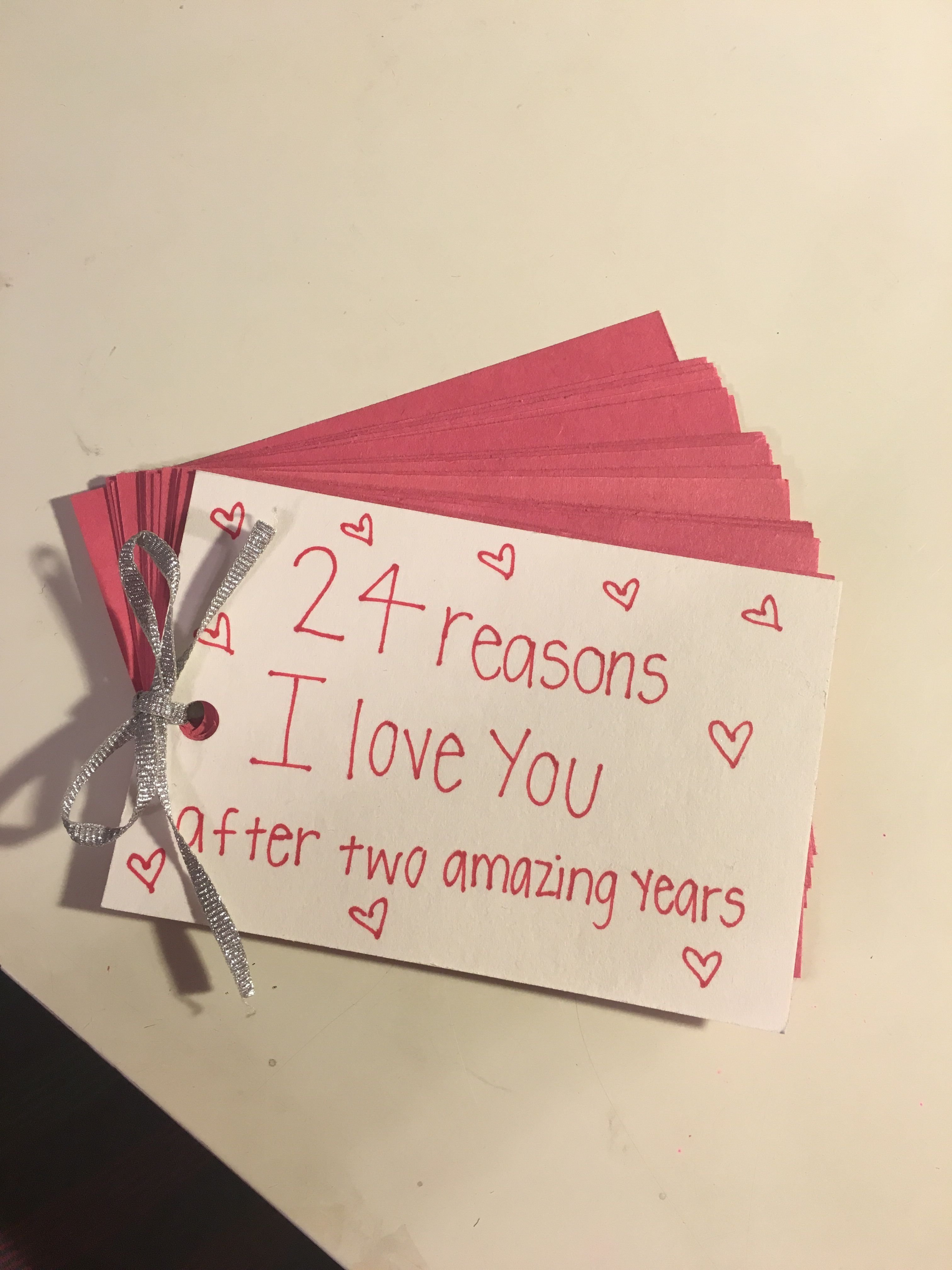 10 Lovable 2Nd Anniversary Gift Ideas For Her two year anniversary gift for boyfriend e29da4 home made diy gifts 2 2020
