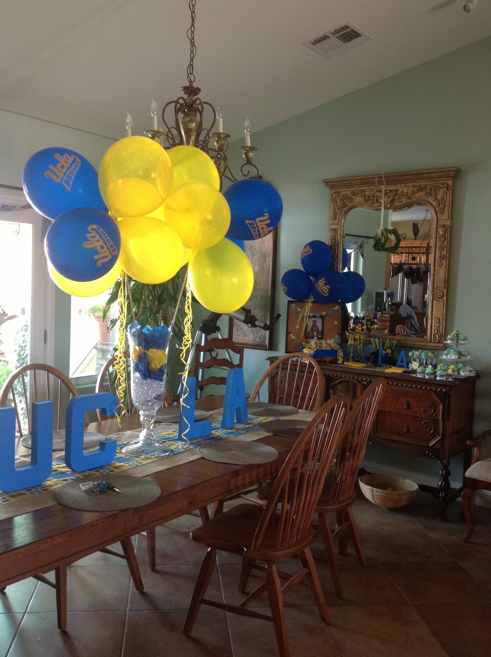 10 Pretty College Send Off Party Ideas ucla send off party for our niece party ideas pinterest 2021