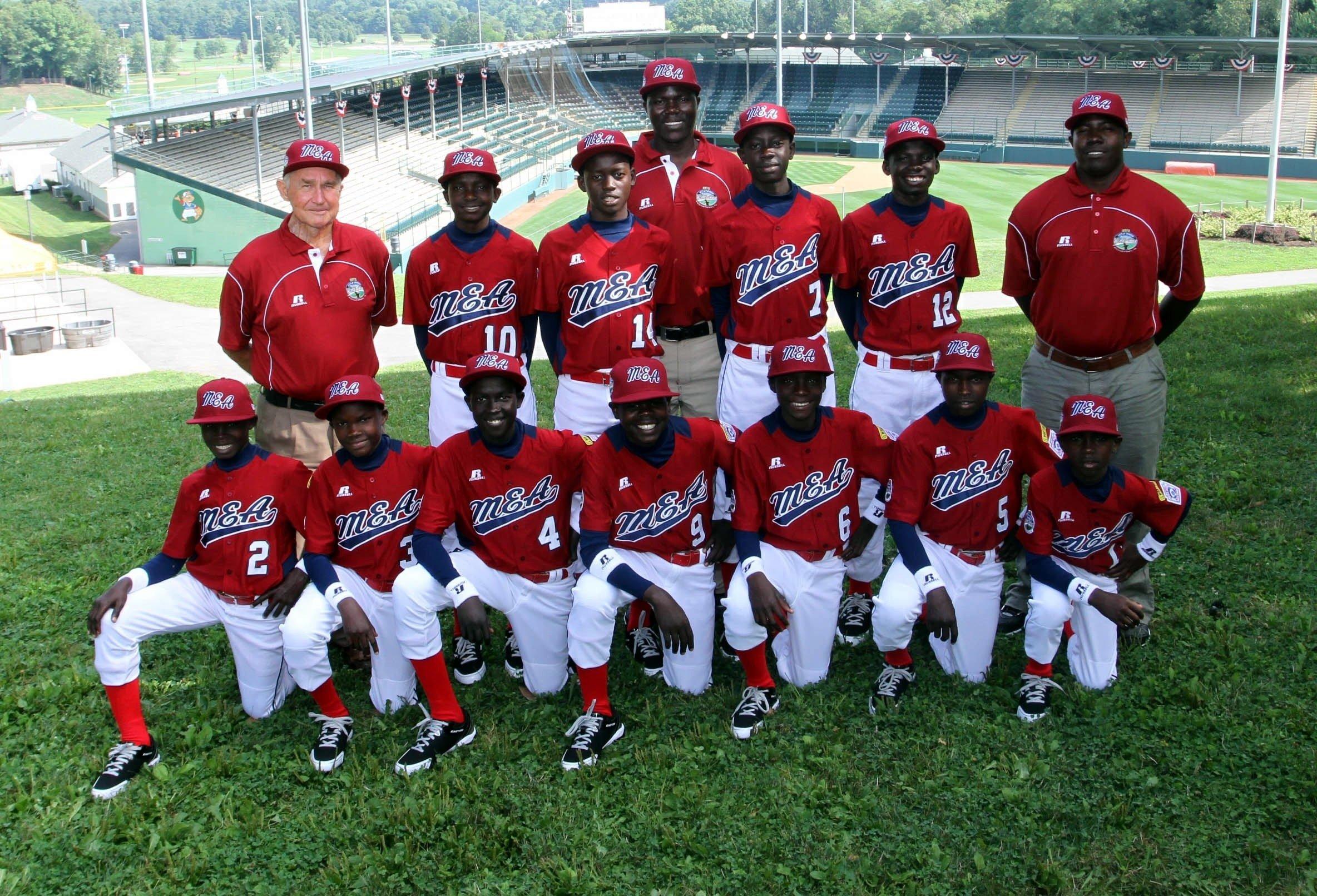 uganda little league baseball