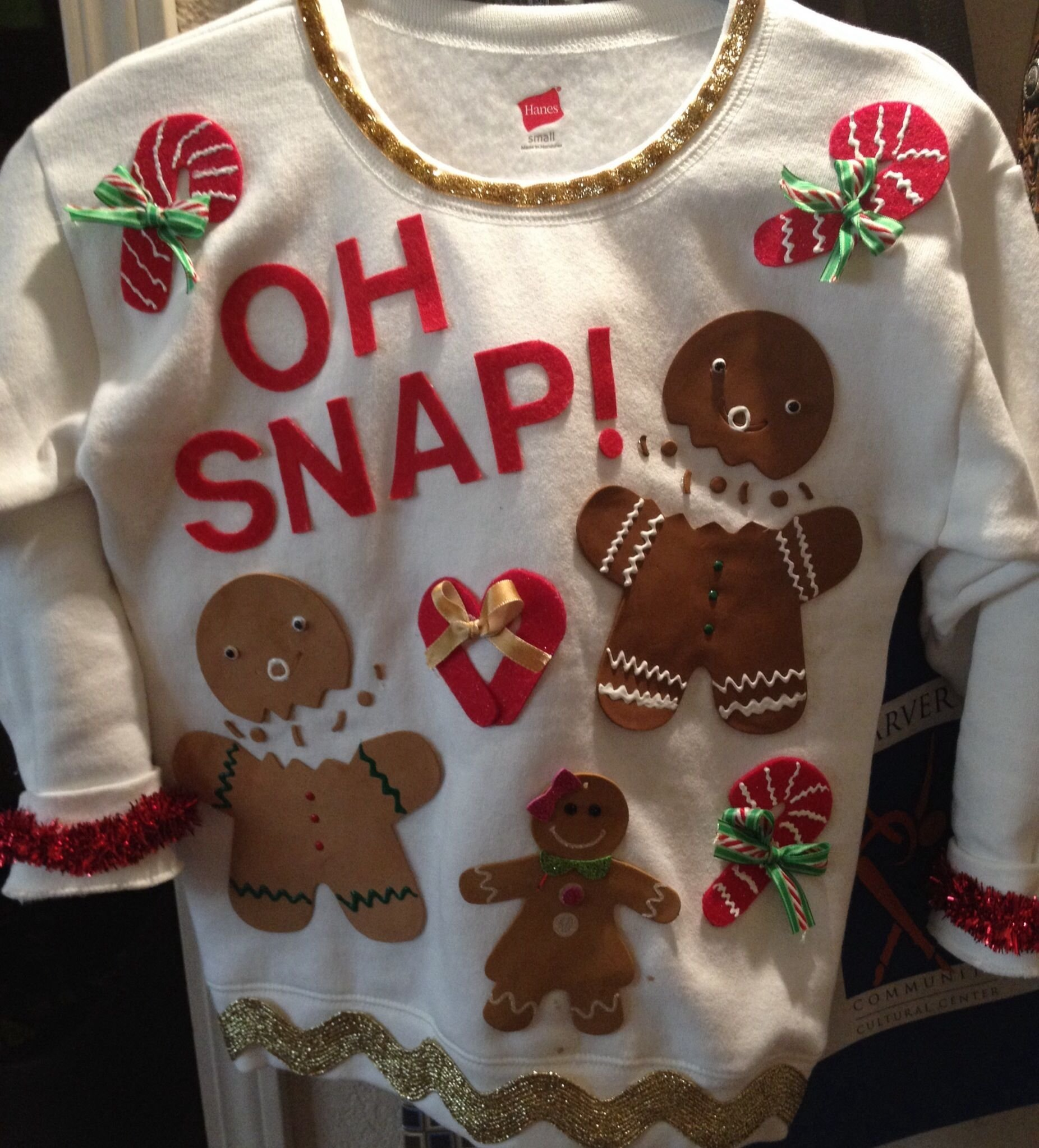 10 Stylish Ugly Christmas Sweaters Ideas Homemade ugly christmas sweater idea purchased sweatshirt at academy and 2021