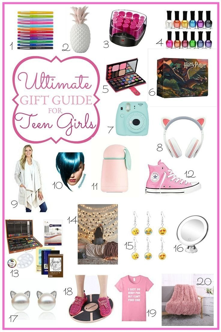 10 Most Recommended Gift Ideas For 16 Year Old Girls ultimate holiday gift guide for teen girls holiday gift guide 2 2020