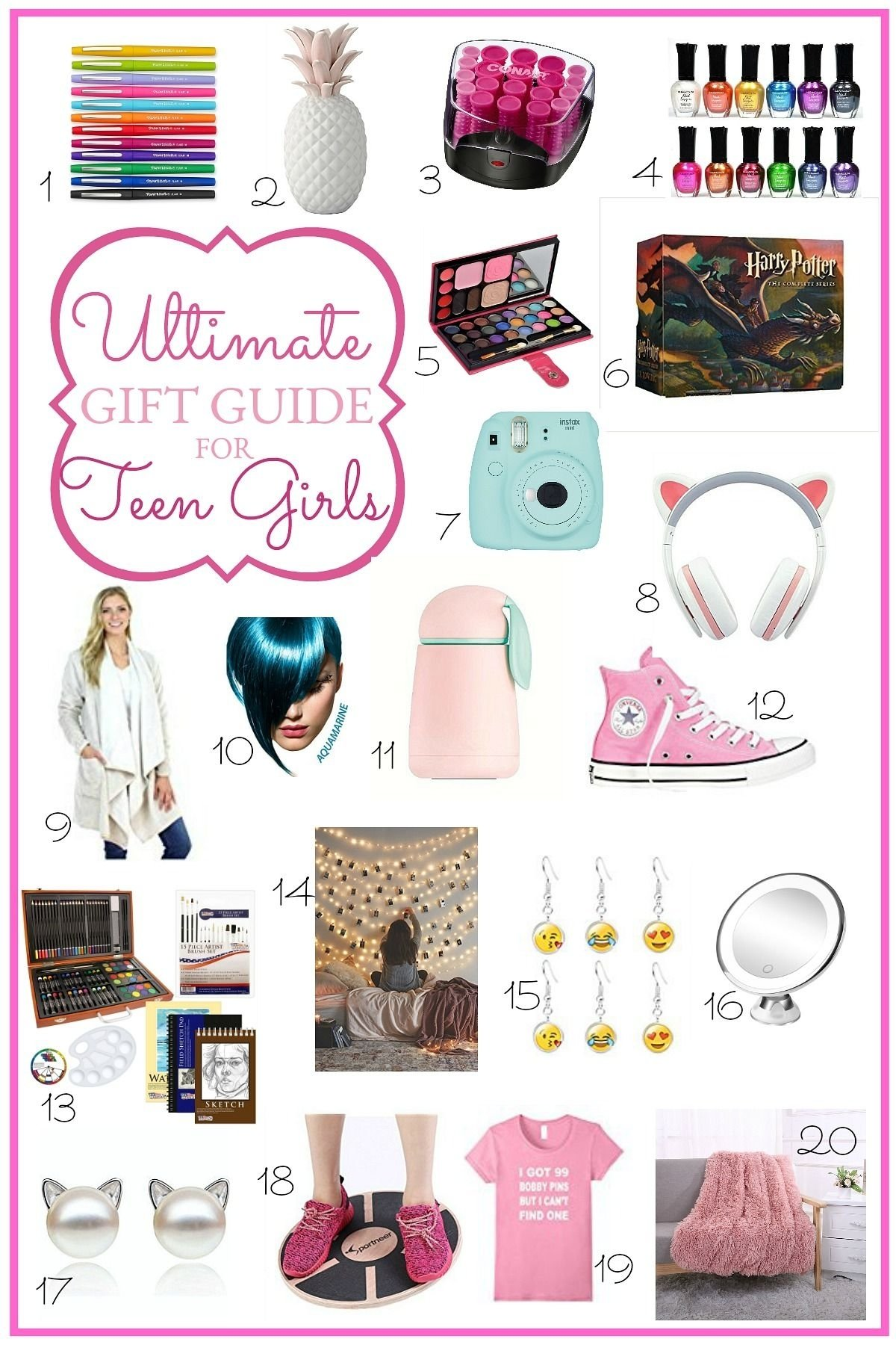 10 Spectacular Birthday Present Ideas For Teenage Girls ultimate holiday gift guide for teen girls 2021