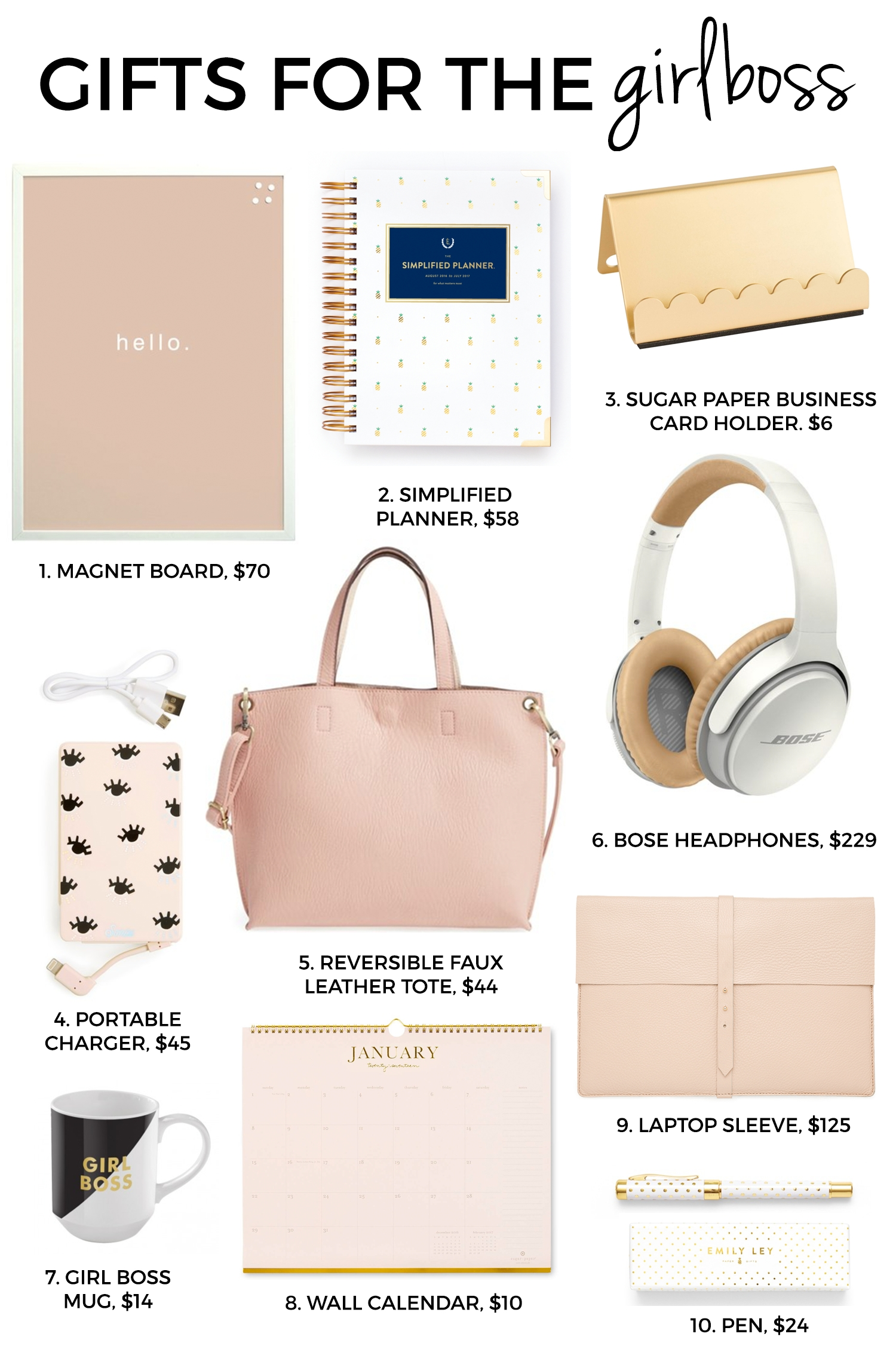ultimate holiday gift guide | girl boss, christmas gift guide and
