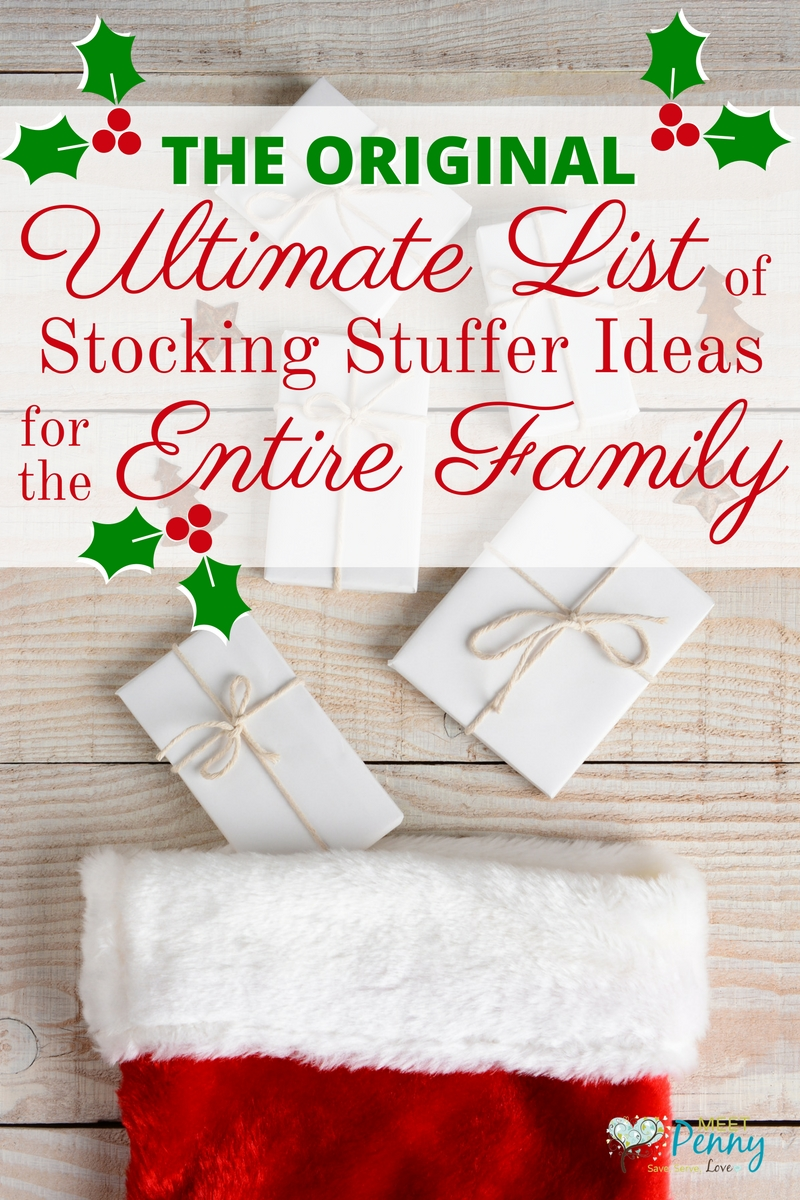 10 Great Christmas Stocking Stuffer Ideas For Adults ultimate list of stocking stuffer ideas for the whole family 600
