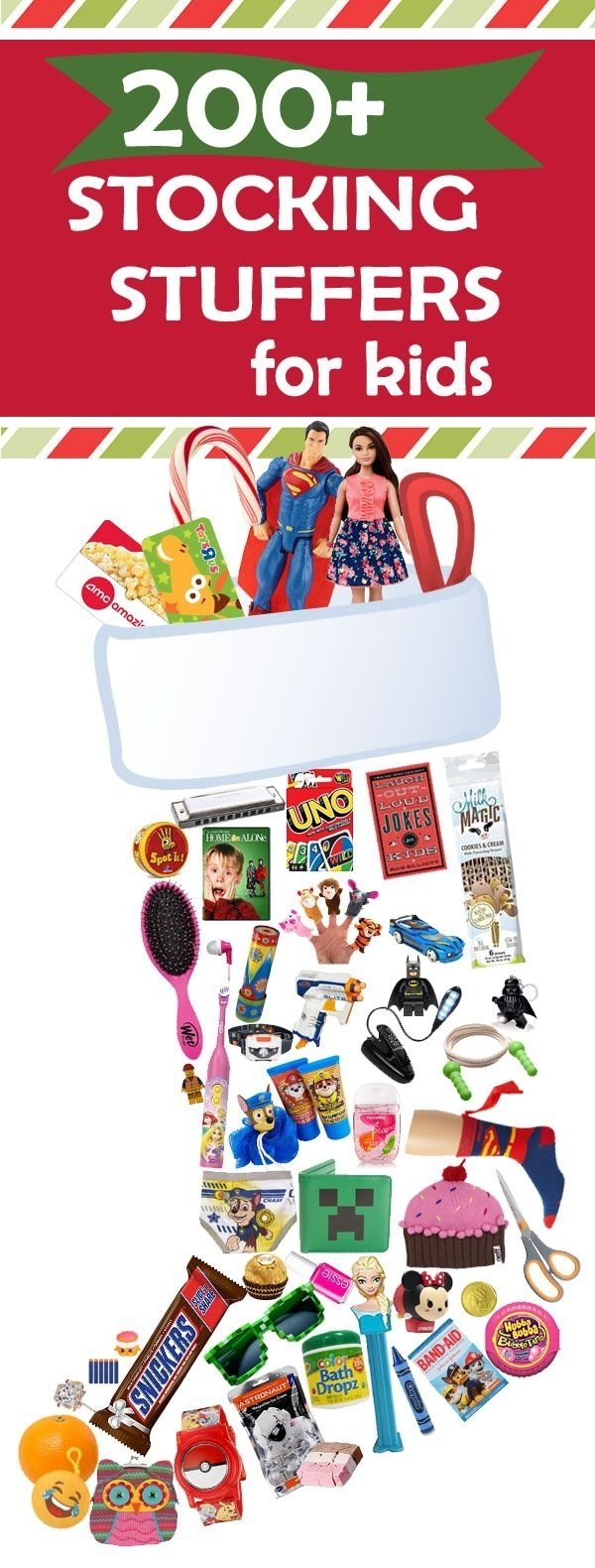 10 Nice Christmas Stocking Ideas For Kids ultimate stocking stuffers list 101 ideas for kids stocking 2020