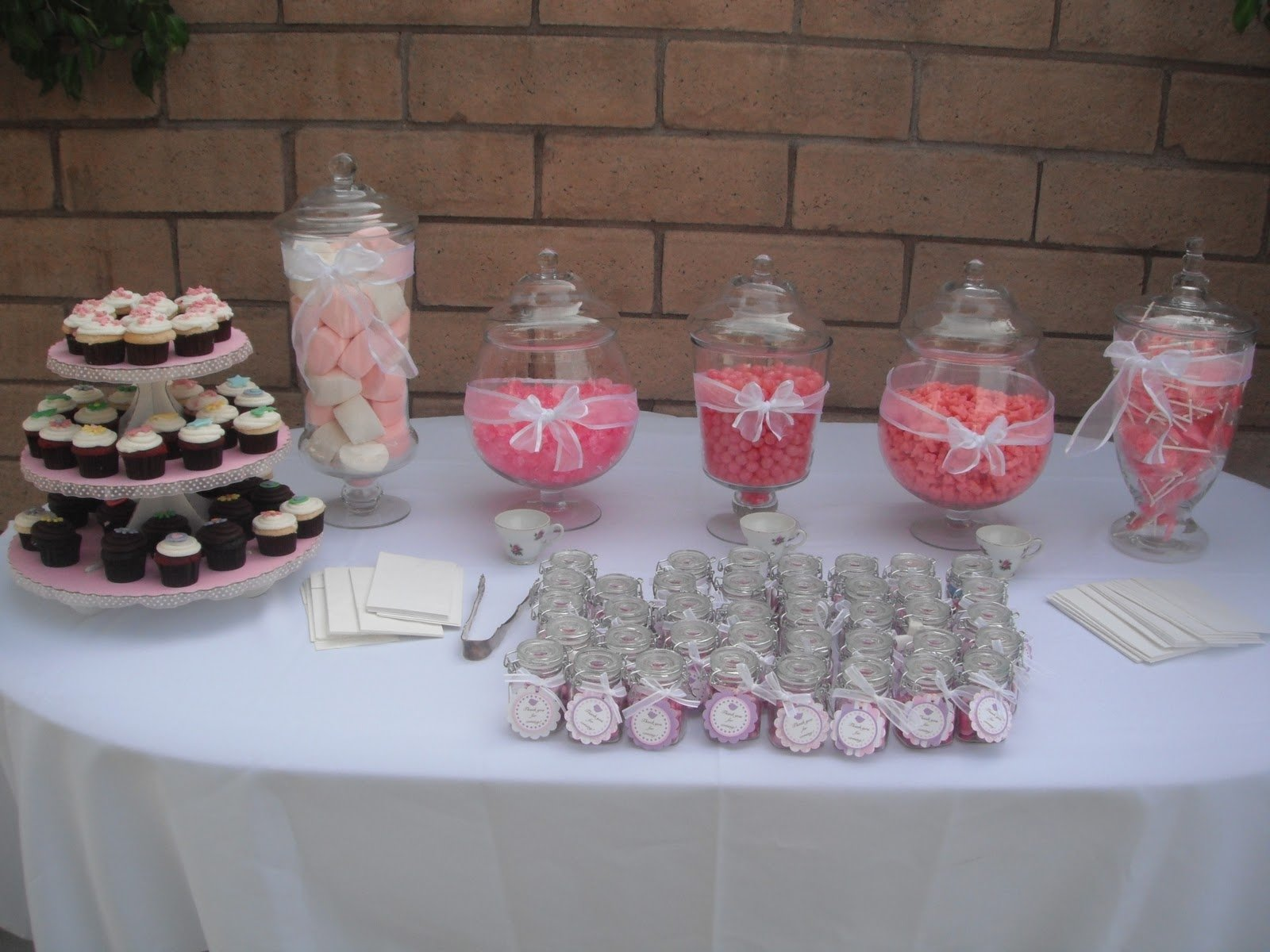 10 Attractive Candy Bar Ideas For Baby Shower unbelievable baby shower candy bar ideas game for girl buffet stock 2020