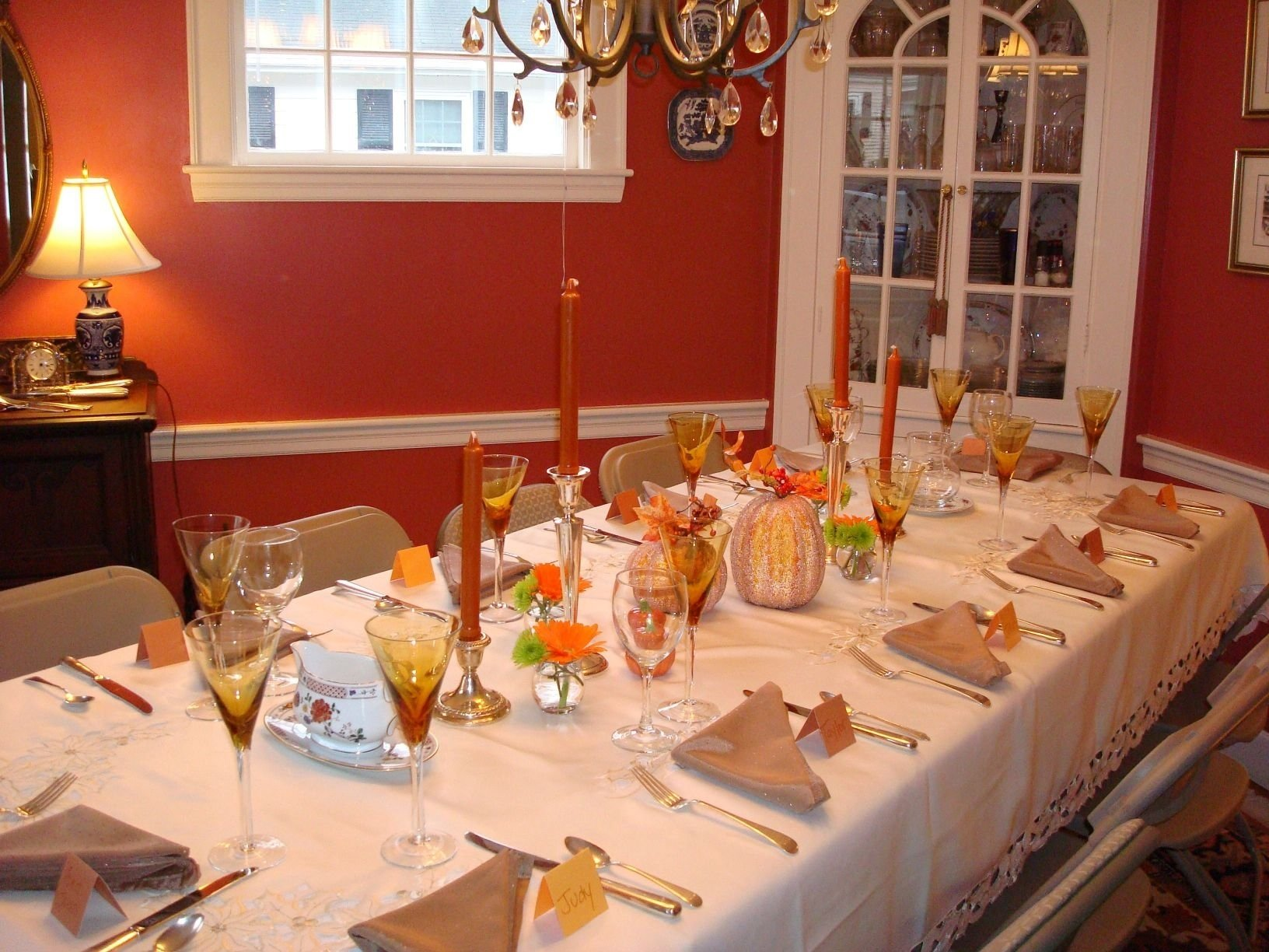 10 Wonderful Thanksgiving Table Setting Ideas Easy unbelievable dining table decoration with various elegant