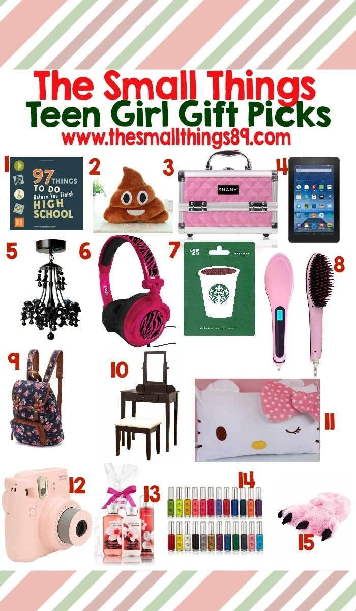 10 Most Recommended Gift Ideas For 16 Year Old Girls unbelievable what to get a 16 year old girl for christmas 2020