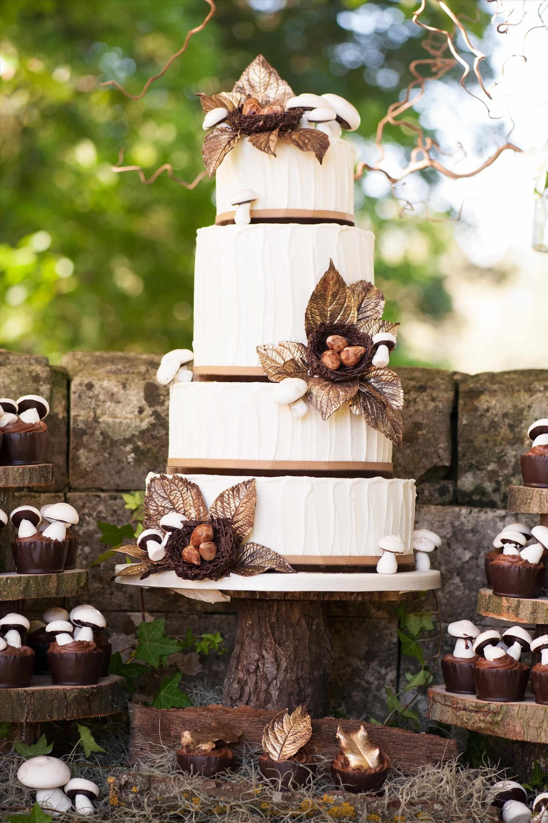 10 Amazing Country Wedding Ideas For Fall unbelievable woodland themed cake country wedding ideas for picture 2021