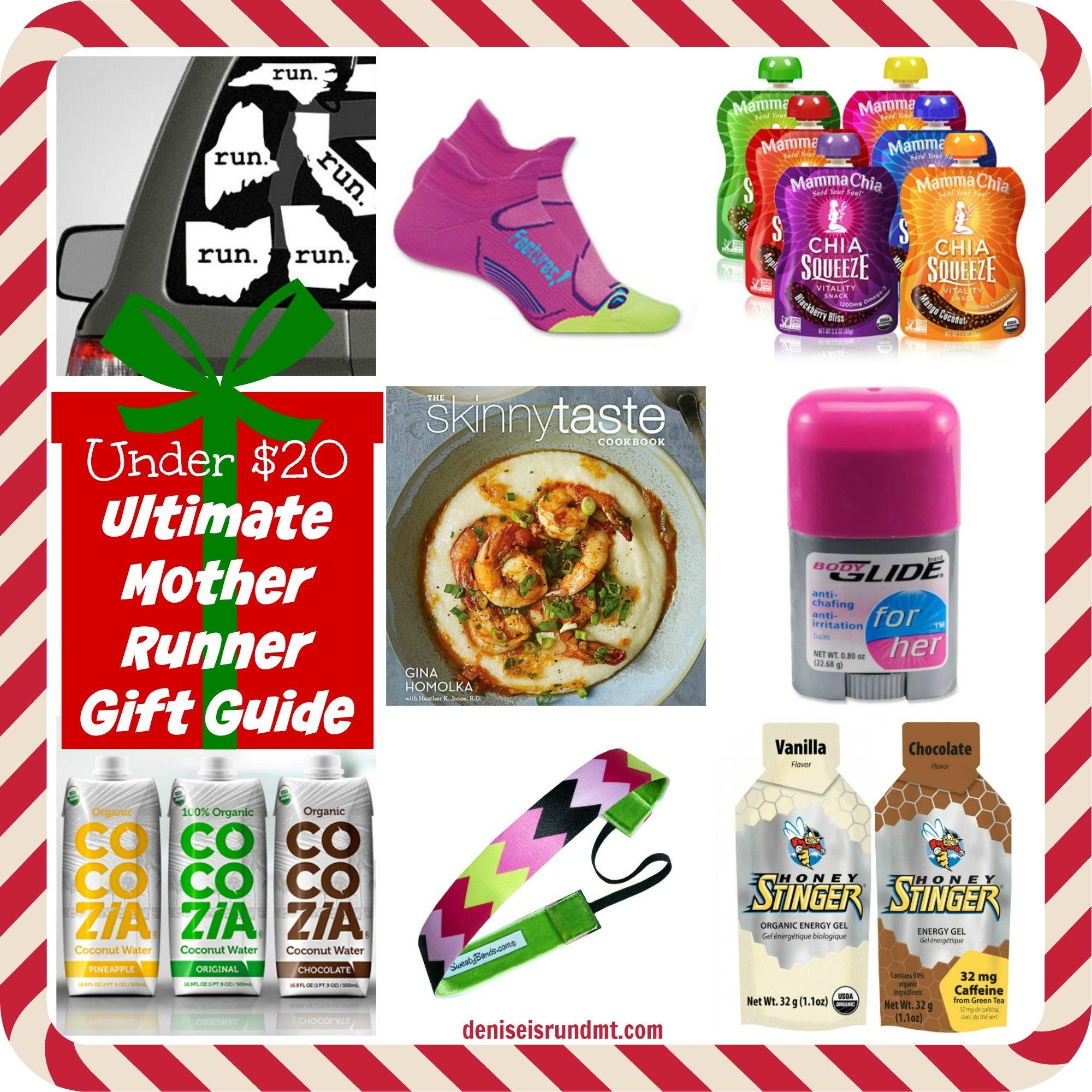 under $20 christmas gift ideas for runners - run dmt