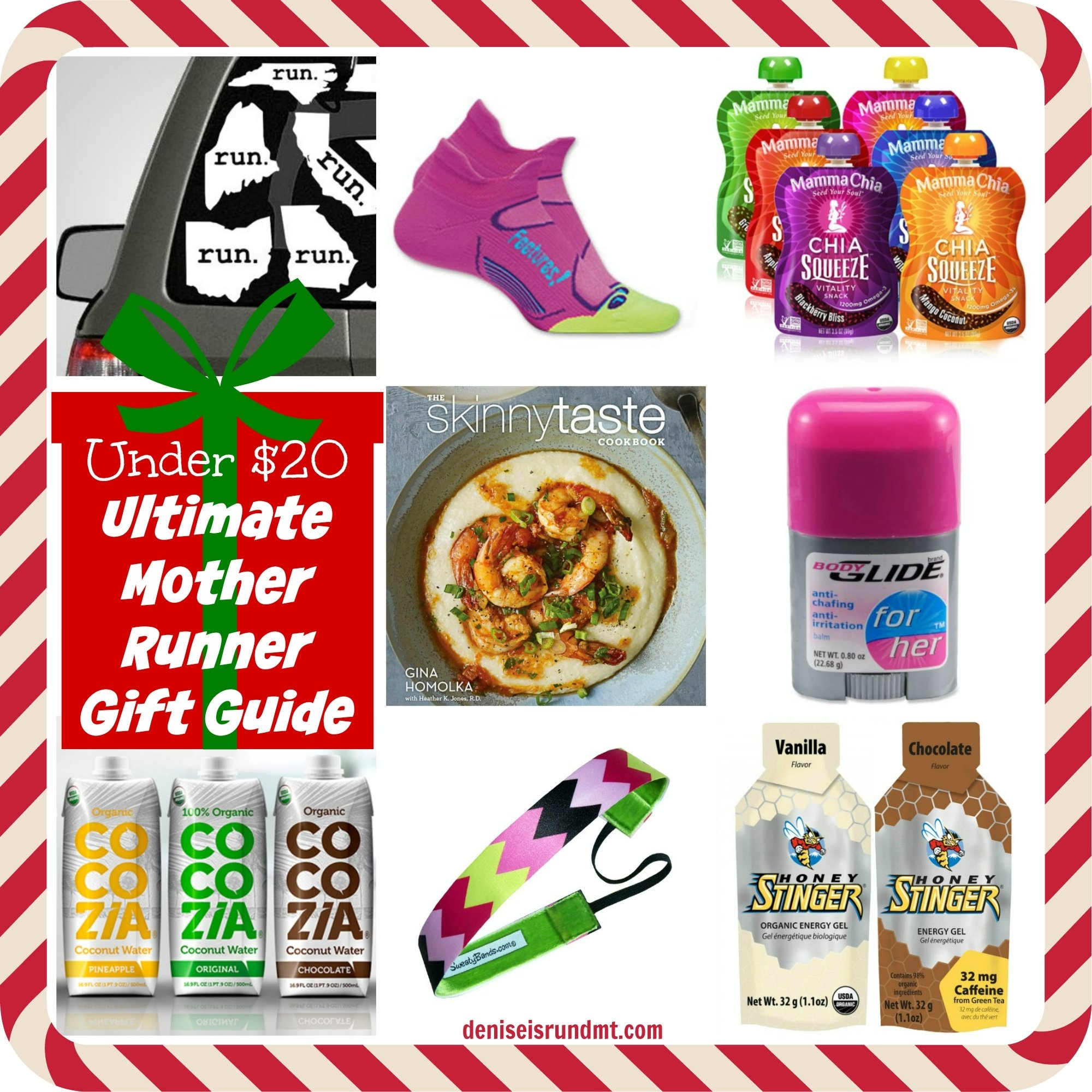 10 Most Popular Gift Ideas For A Runner under 20 christmas gift ideas for runners run dmt