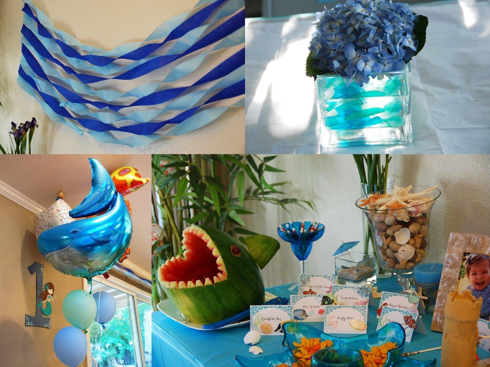 10 Fabulous Under The Sea Party Decoration Ideas under the sea 1st birthday party decorations from under the sea 1 2021