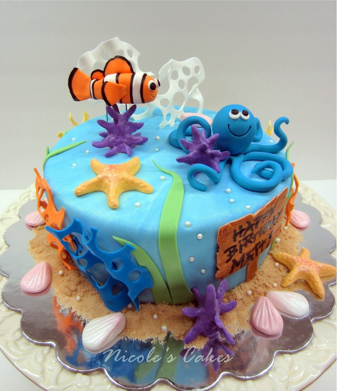 10 Nice Under The Sea Cake Ideas under the sea birthday cake confections cakes creations 2021