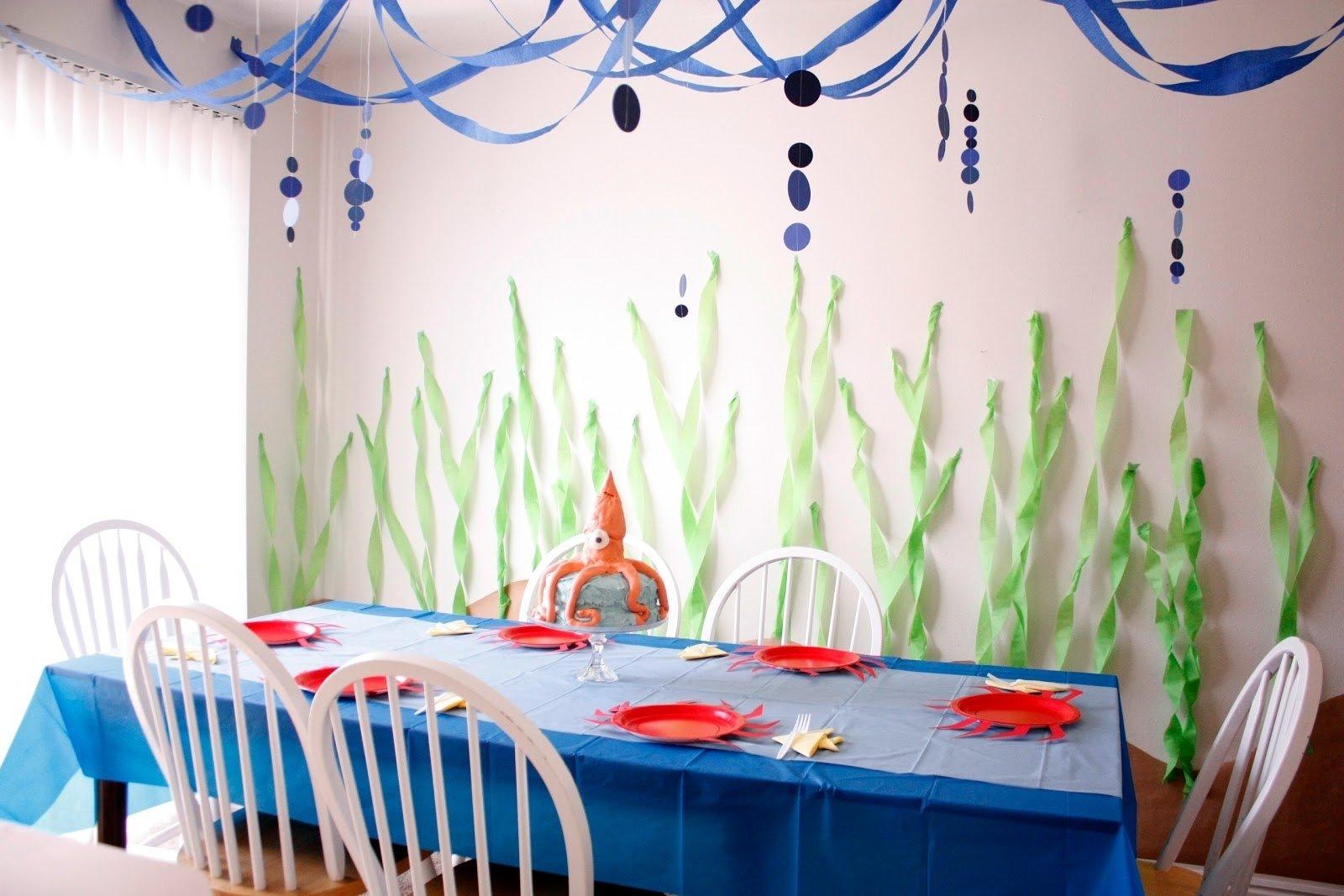 10 Stunning Under The Sea Birthday Party Ideas under the sea birthday party part two 2021