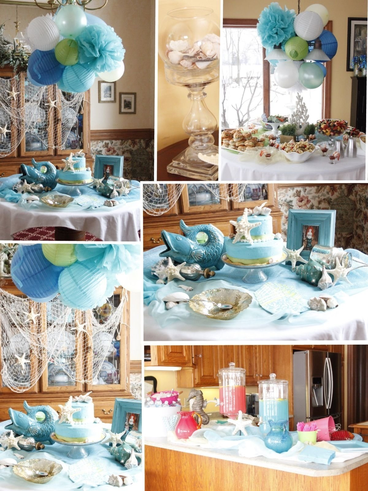 10 Great Beach Theme Bridal Shower Ideas under the sea bridal shower showers pinterest bridal showers 2020