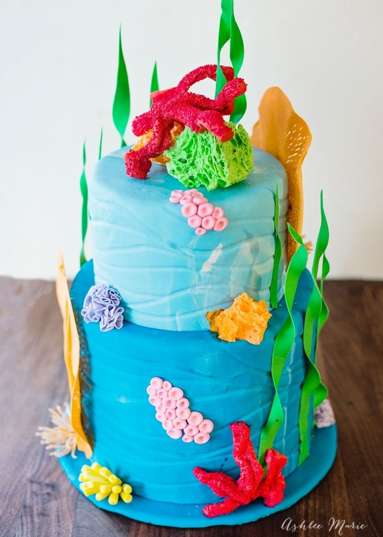 under the sea cake | ashlee marie - real fun with real food