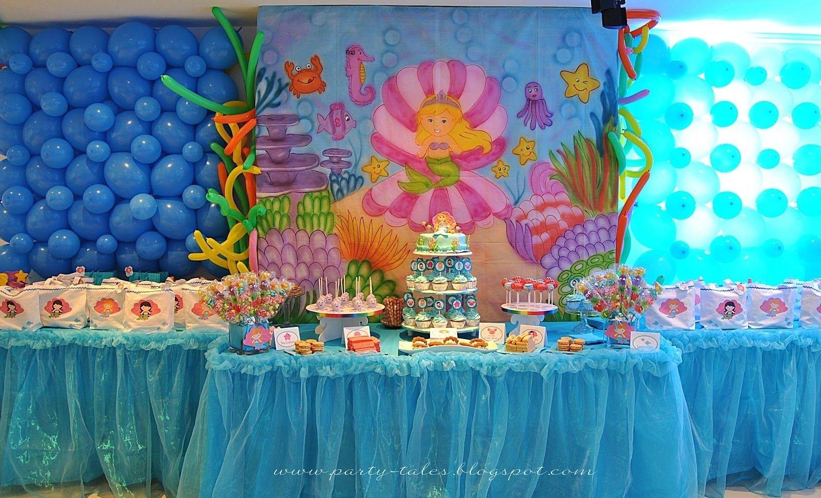 10 Stunning Under The Sea Birthday Party Ideas under the sea decorations party tales birthday party under 2021