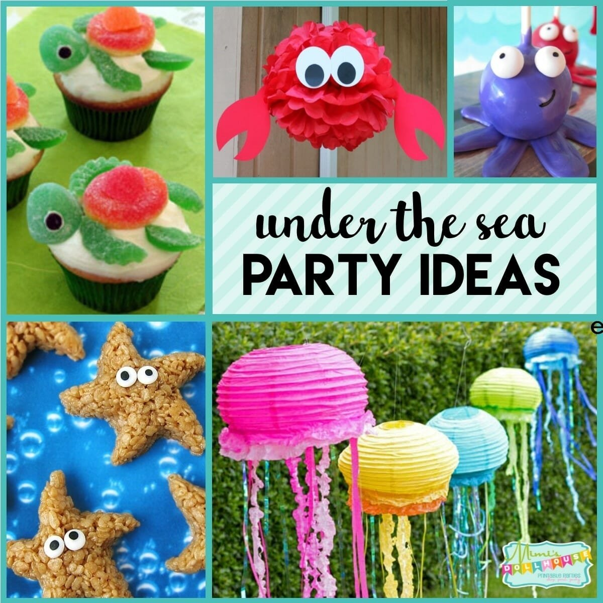 under the sea party: fishy fun with ocean party ideas | mimi's dollhouse