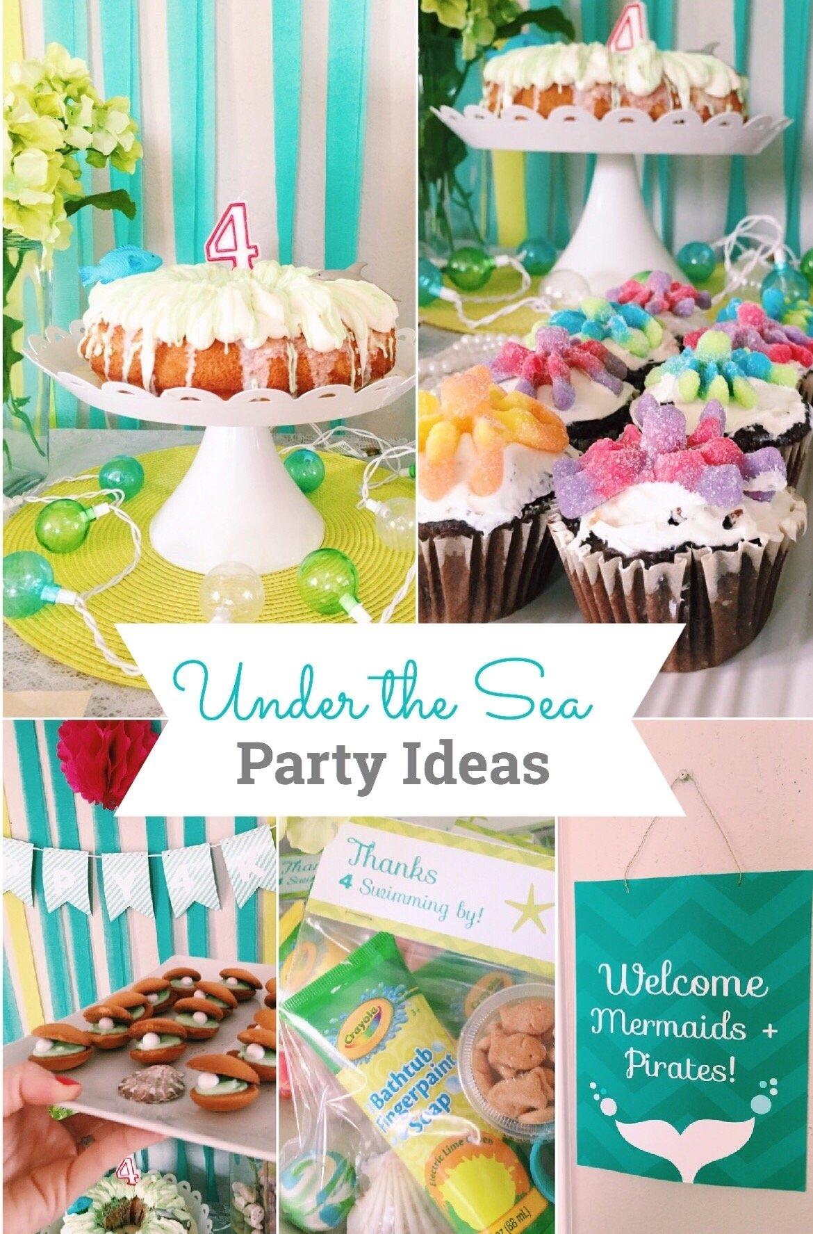 10 Attractive Under The Sea Party Ideas under the sea party ideas brigeeski 1