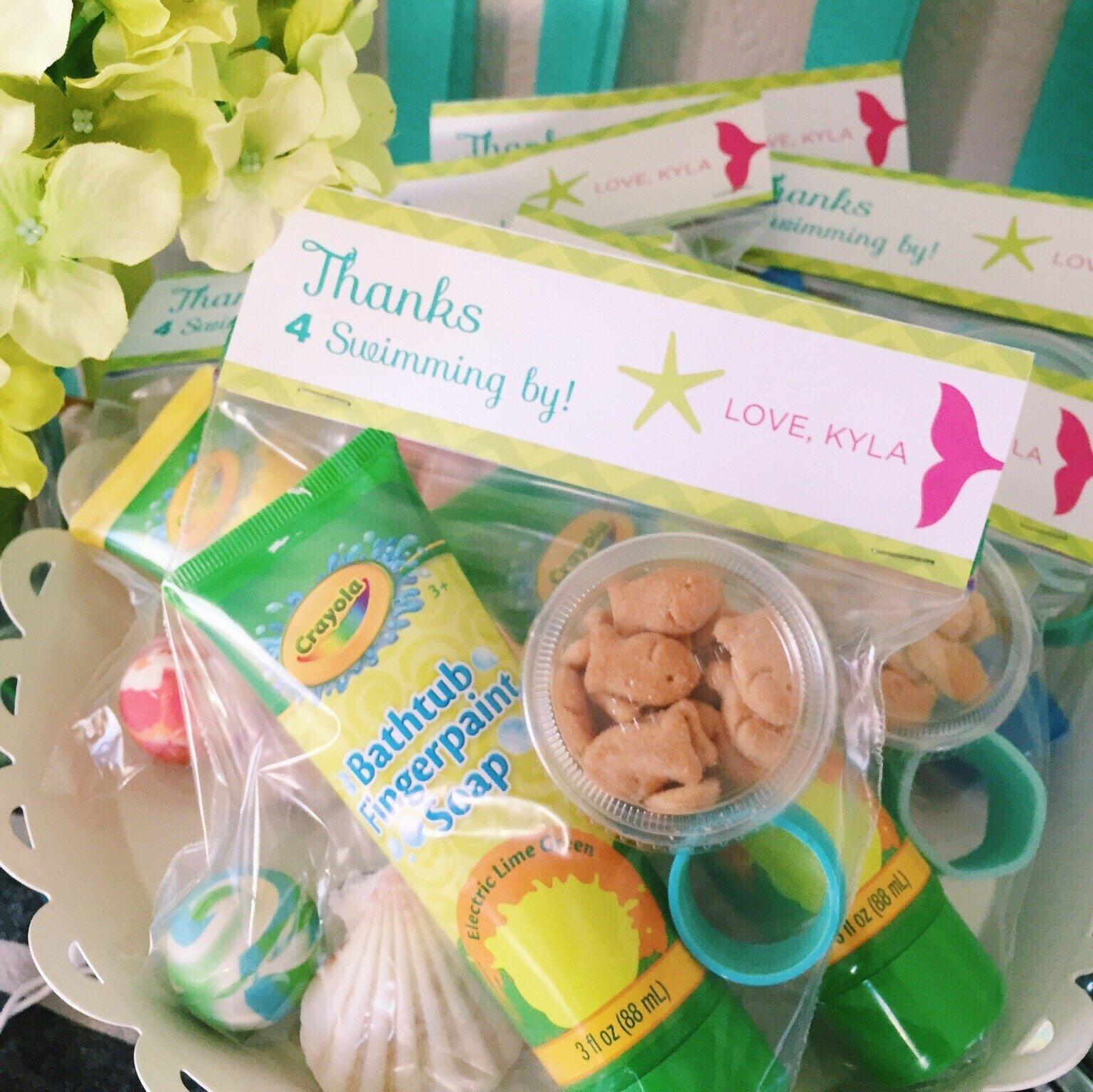 10 Wonderful Birthday Party Goodie Bag Ideas under the sea party ideas brigeeski 3 2021