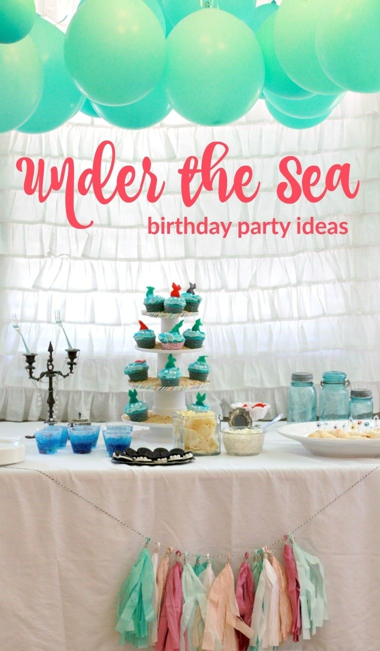 10 Attractive Under The Sea Party Ideas under the sea party ideas painted confetti