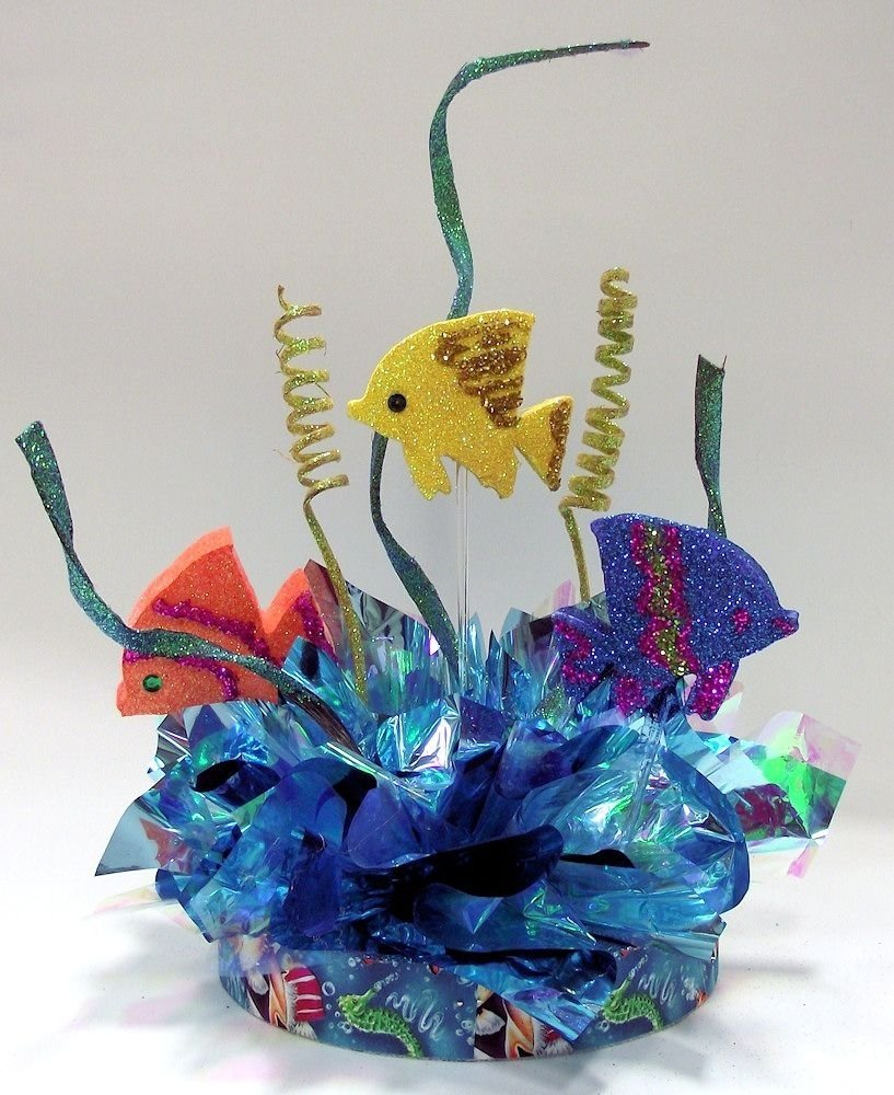 10 Fabulous Under The Sea Centerpiece Ideas under the sea theme party decorations little mermaid party 2020