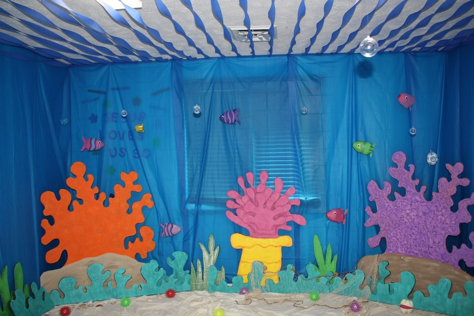 10 Fabulous Under The Sea Centerpiece Ideas under the sea wall decor unique eager little mind under the sea 2020
