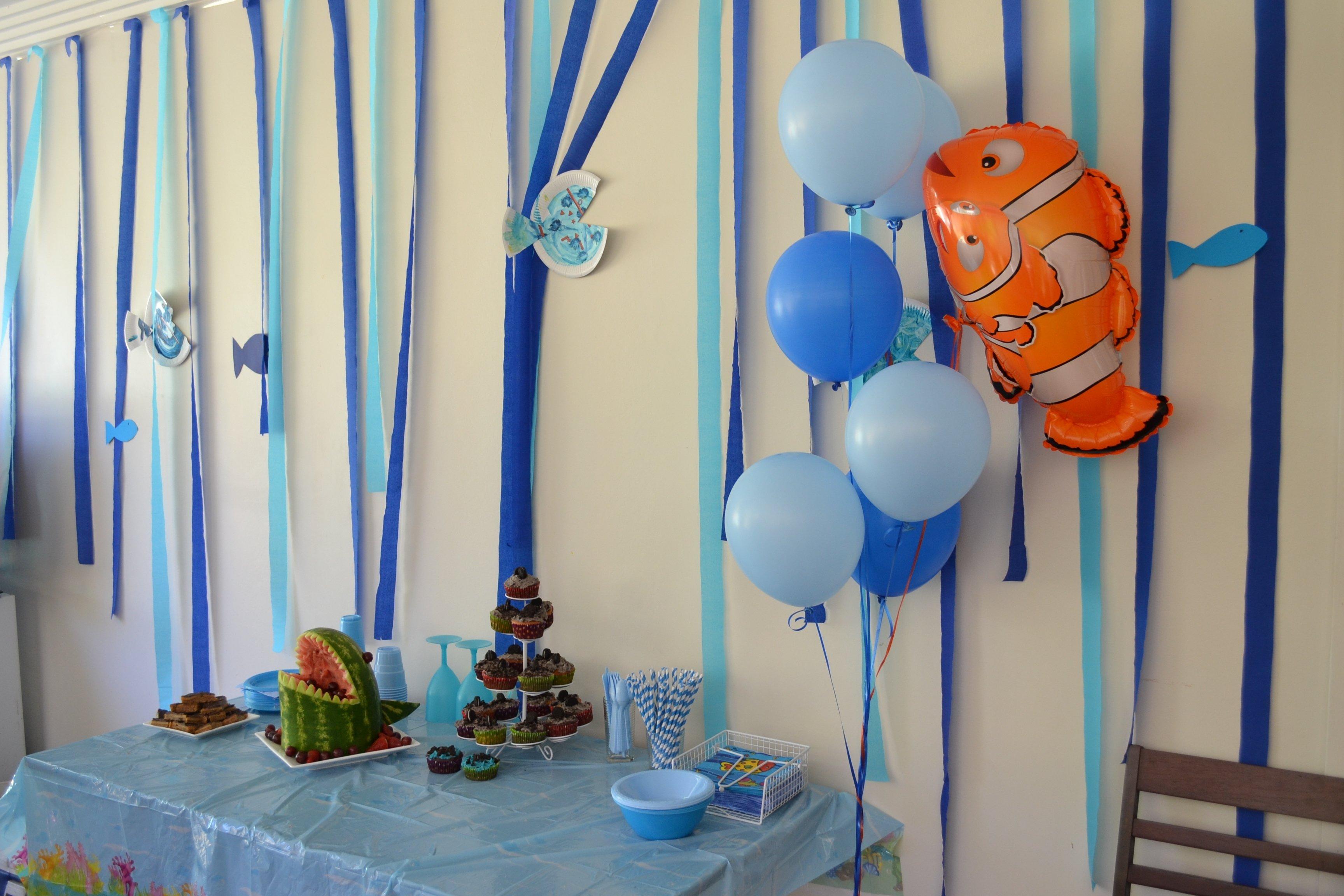 10 Stylish Finding Nemo Birthday Party Ideas underwater birthday party ideas neatsweetandgeek au 2020
