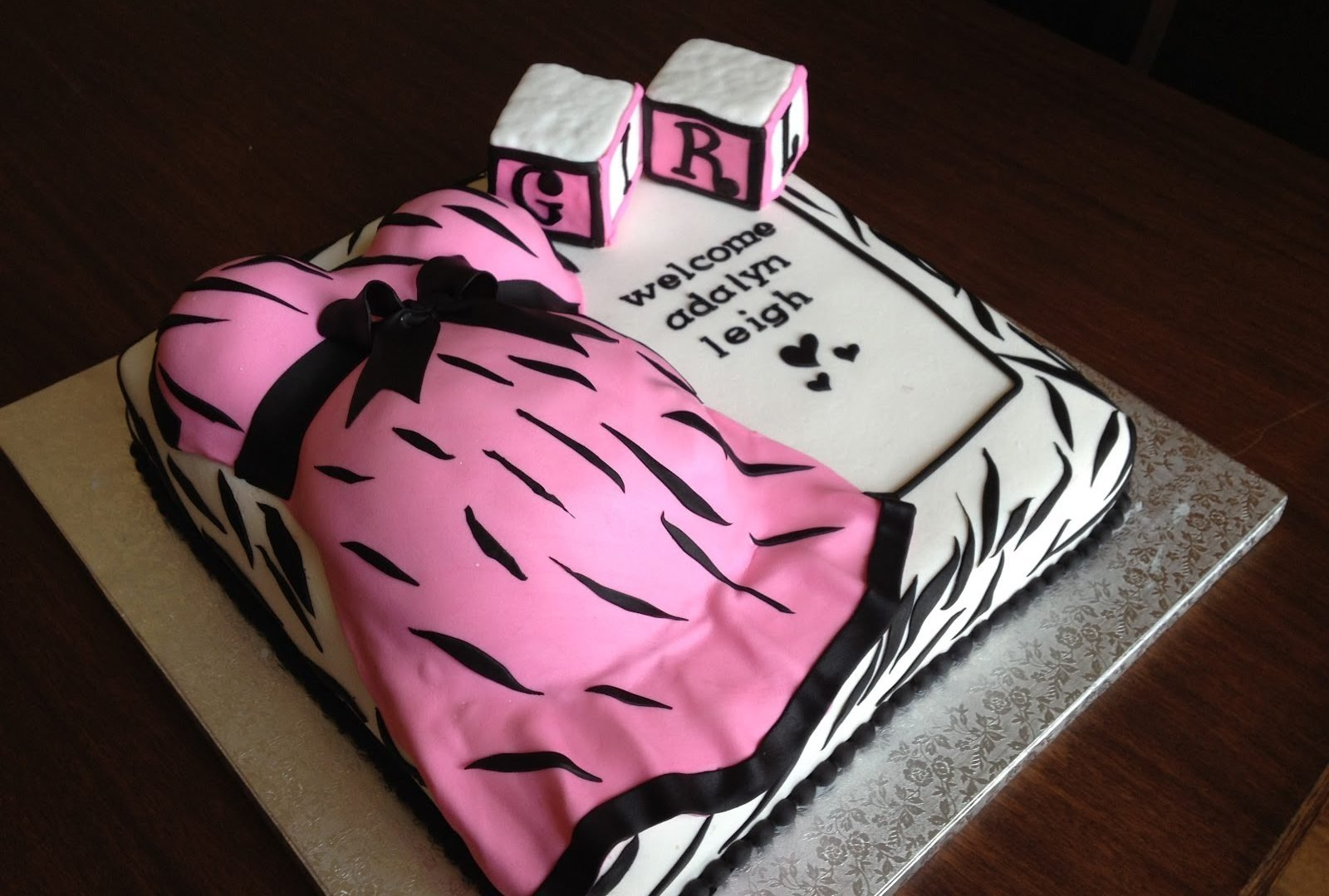 10 Perfect Pink And Black Baby Shower Ideas unforgettable pink and black baby shower ideas girl white hot zebra 2021