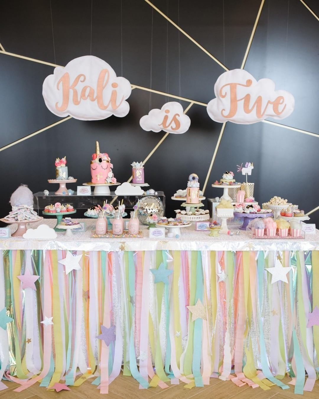 10 Gorgeous 5 Year Old Girl Birthday Party Ideas unicorn birthday party ideas girl birthday party pinterest 2020