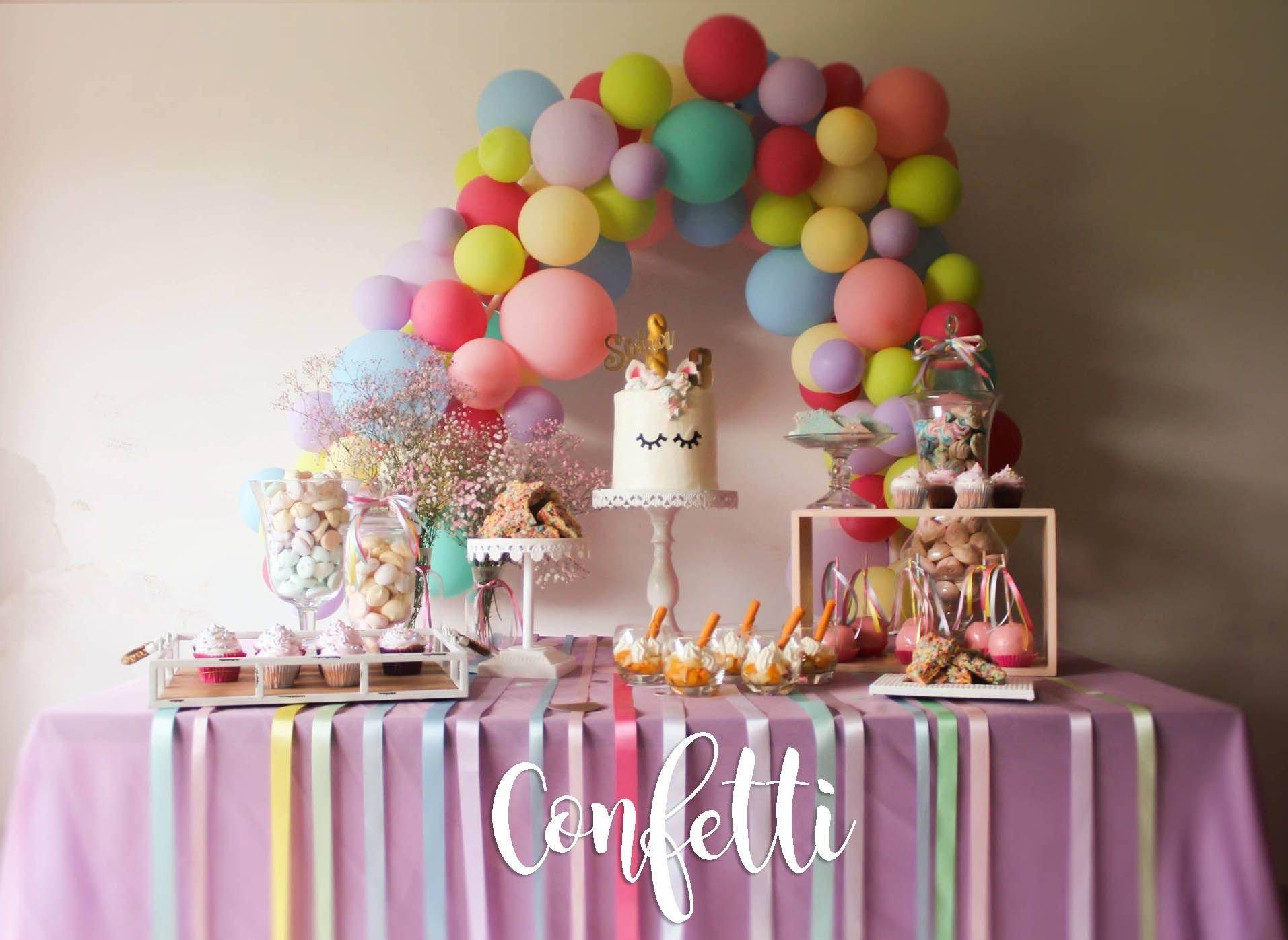 10 Most Popular Birthday Party Ideas Richmond Va unicorn party ideas kids party colorful party fiesta de 2021