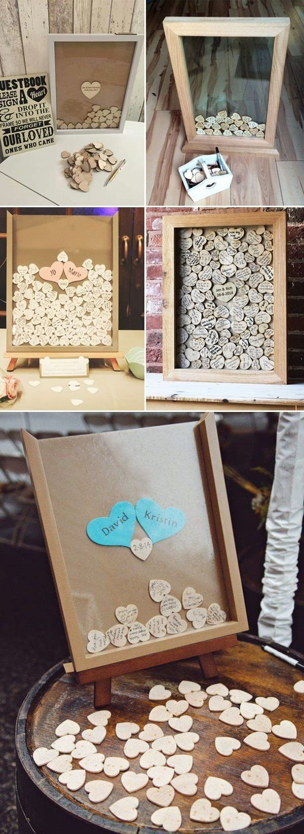 10 Most Recommended Alternative Wedding Guest Book Ideas unique alternative wedding guest book ideas idees de mariage