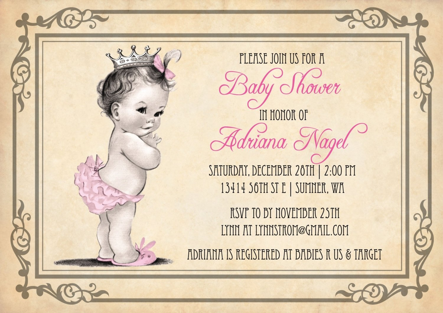10 Fashionable Ideas For Baby Shower Invitations unique baby shower girl invitations as prepossessing ideas baby 2021
