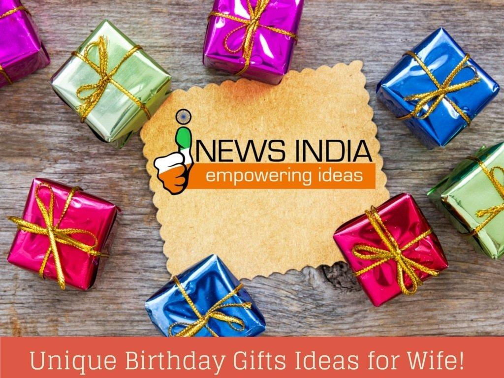 10 Wonderful Birthday Gift For Wife Ideas unique birthday gifts ideas for wife i news india empowering ideas 4 2021