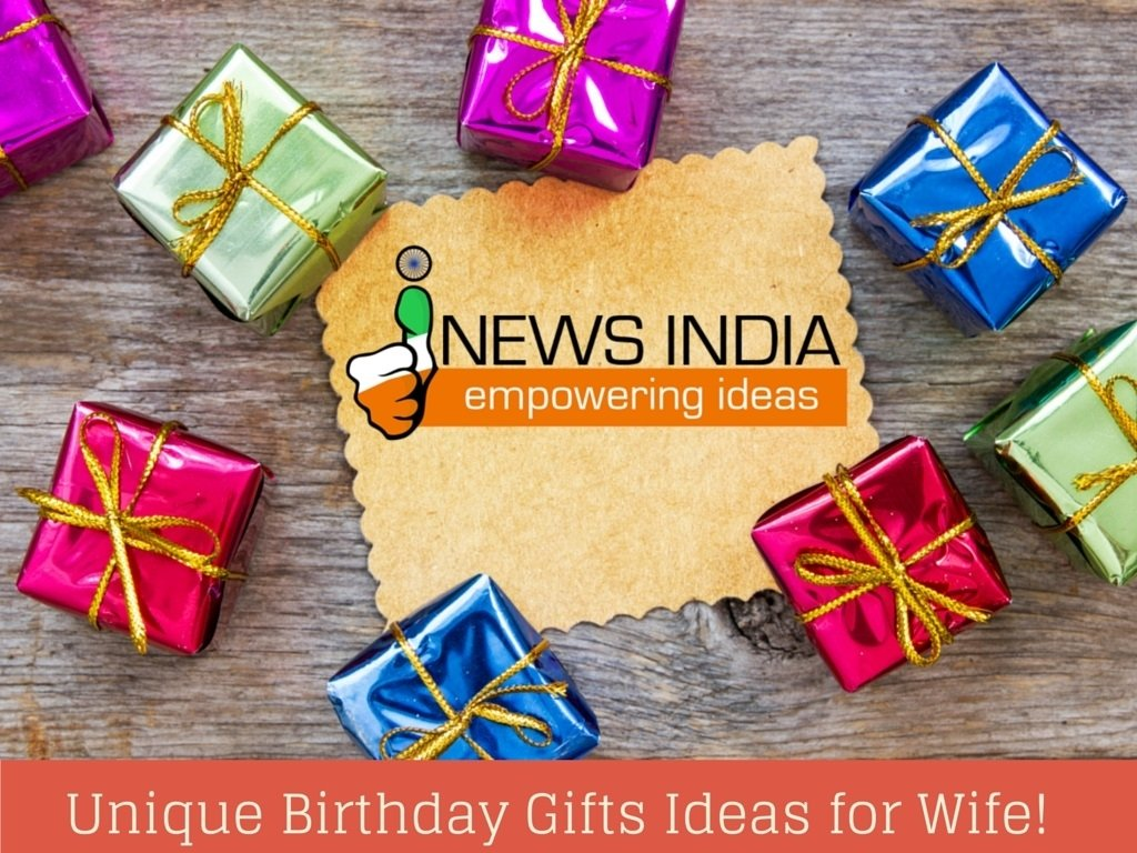 10 Perfect Birthday Gift Ideas For Wife unique birthday gifts ideas for wife i news india empowering ideas