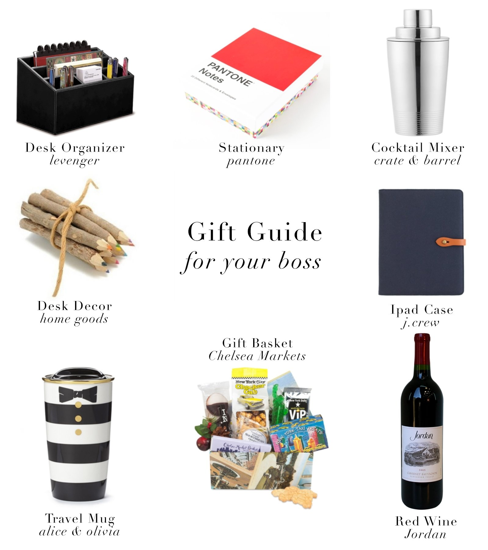 10 Perfect Christmas Gift Ideas For Your Boss