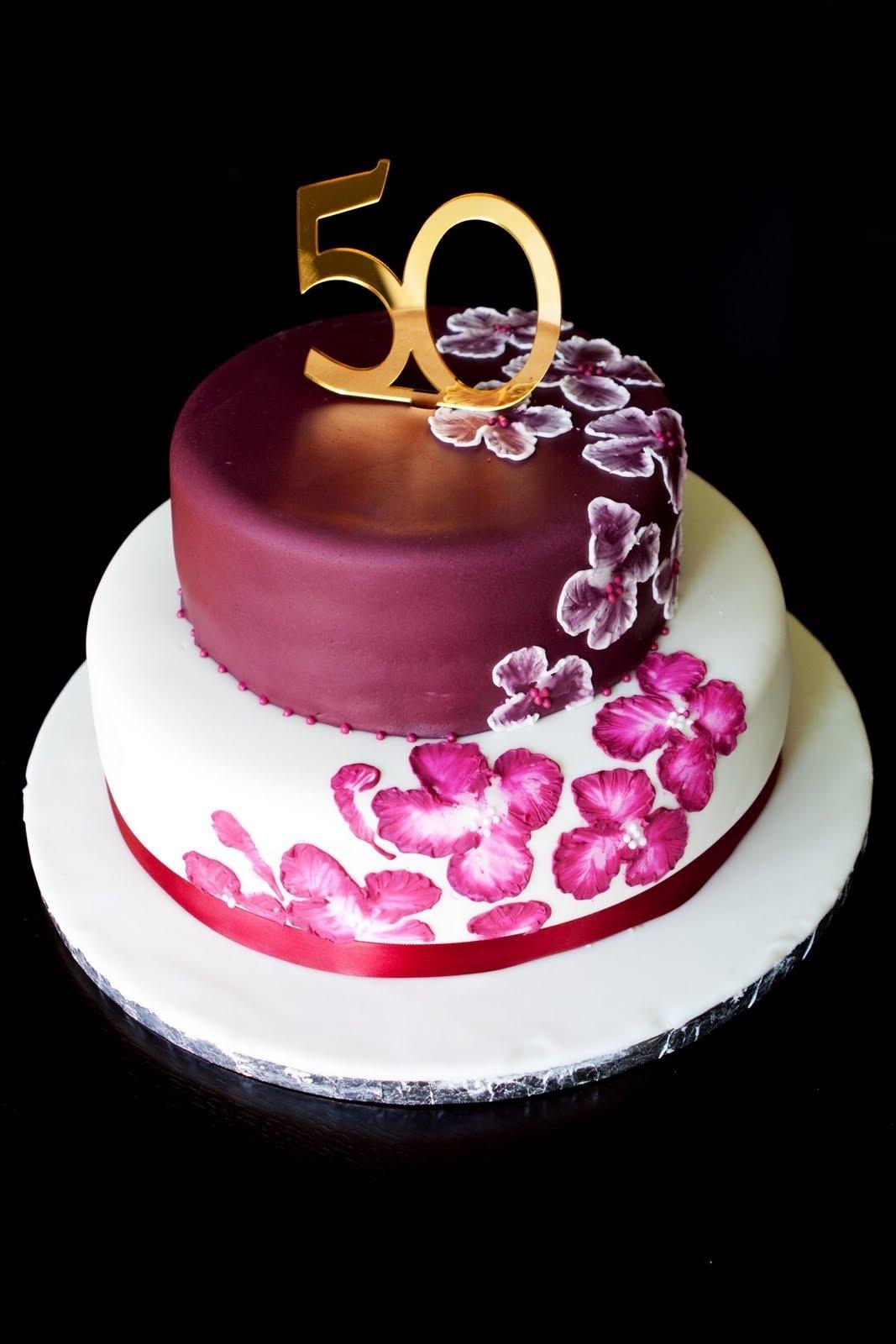 10 Wonderful Ideas For 50Th Birthday Cake unique elegant birthday cakes 50th birthday cake ideas birthday 2 2020