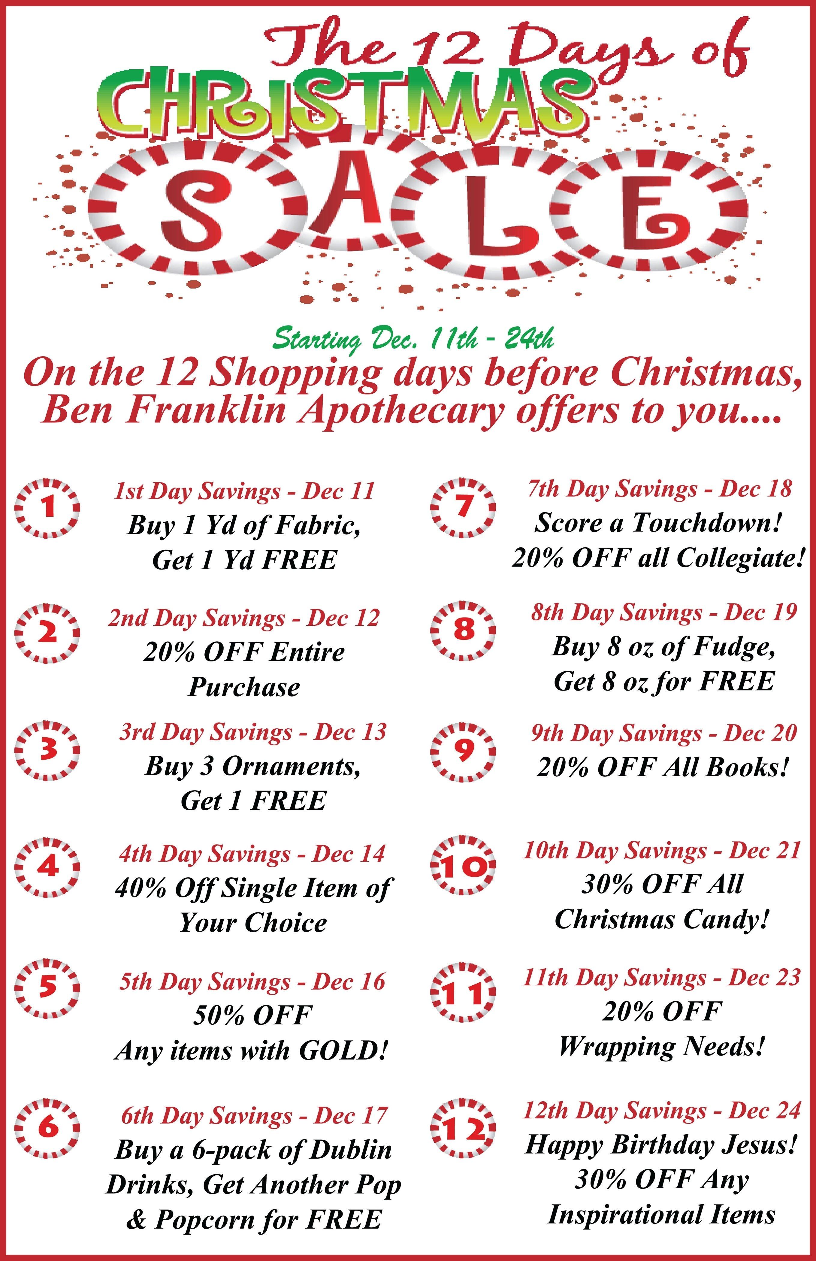 unique gift ideas « ben franklin apothecary blog