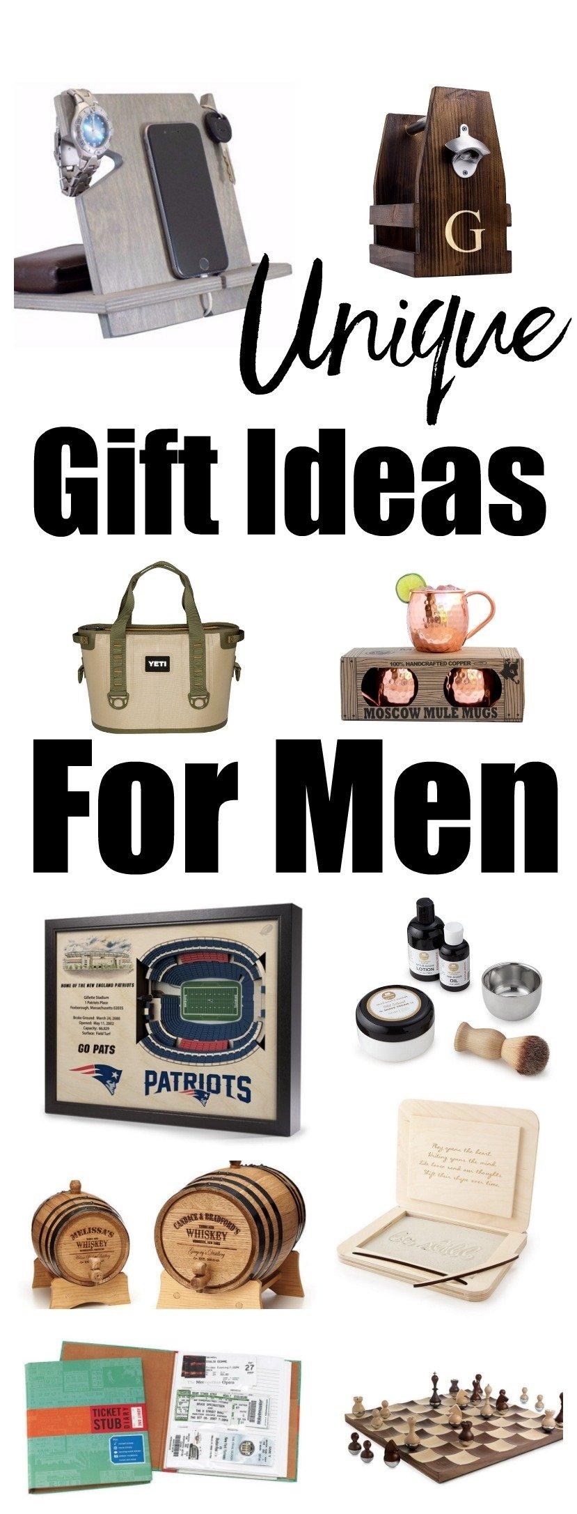 10 Pretty Gift Ideas For A Man unique gift ideas for men happy healthy mama 2020