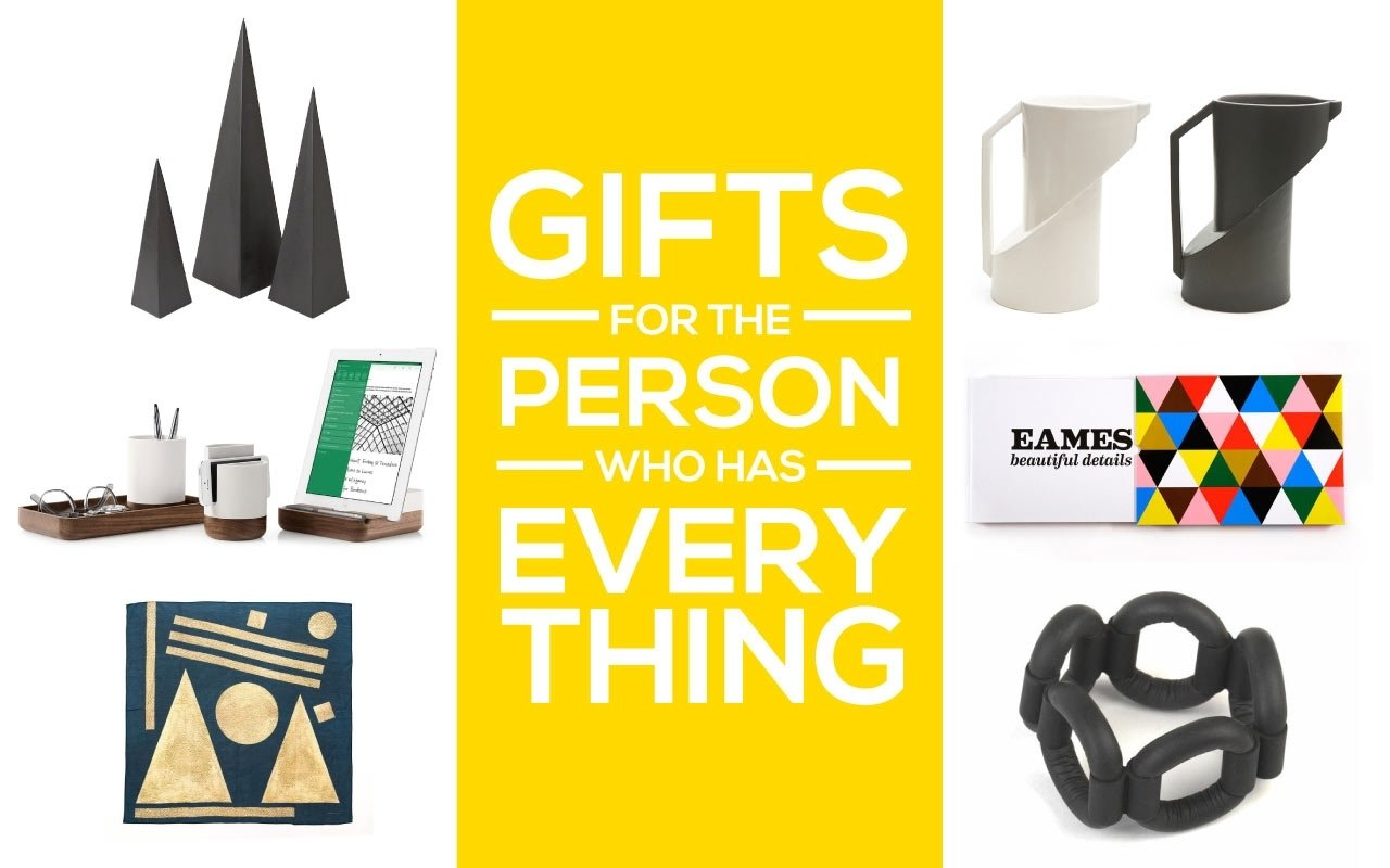 10 Fantastic Gift Ideas For Someone Who Has Everything unique gift ideas for someone who is hard to buy for design milk