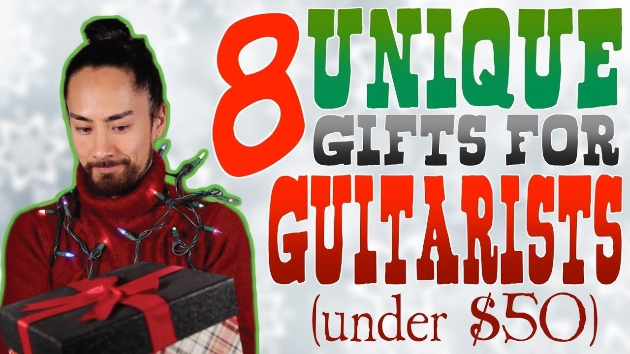 10 Stunning Gift Ideas For Guitar Players unique guitar gift ideas youtube 2020