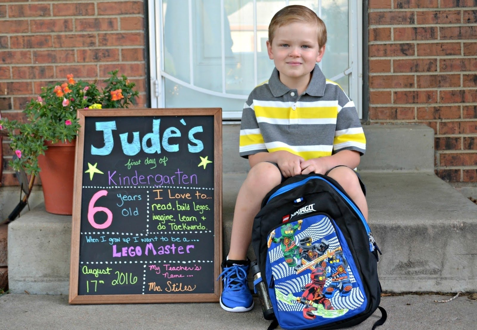 unique kindergarten first day of school picture ideas collections
