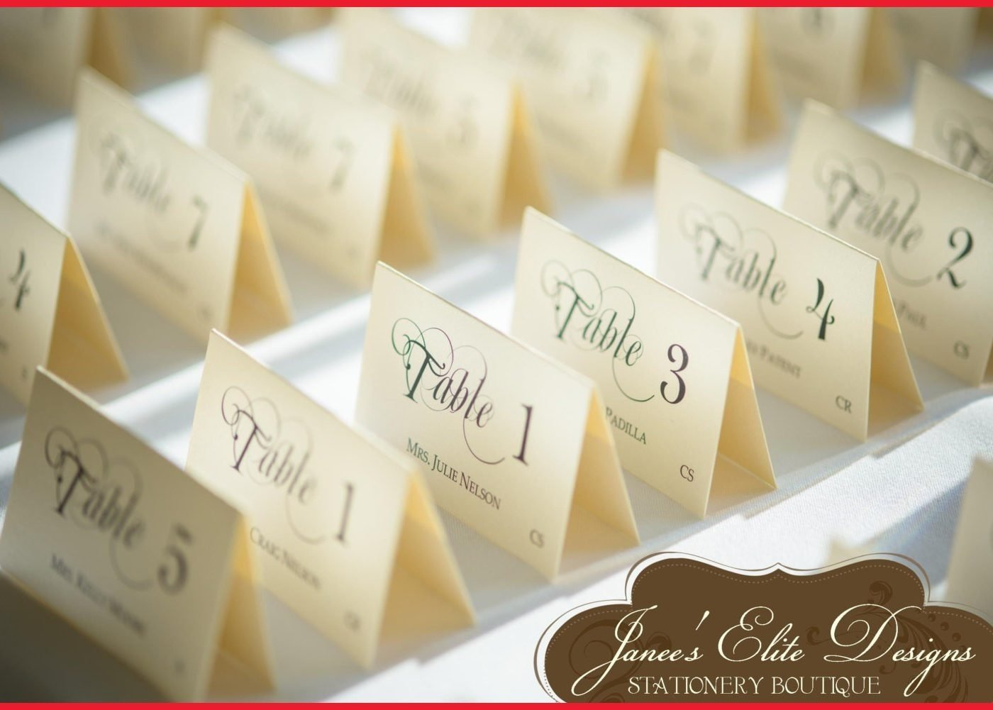 10 Attractive Place Card Ideas For Wedding unique wedding place cards card ideas table holder pinterest stock 2020