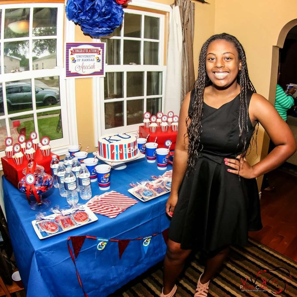 10 Pretty College Send Off Party Ideas university of kansas farewell party party ideas photo 24 of 30 2021