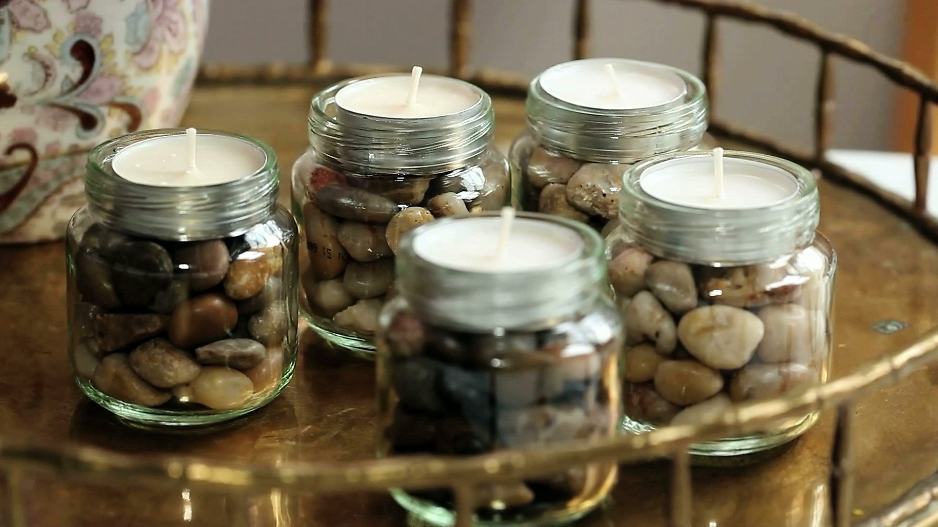 upcycled baby food jar ideas video | hgtv