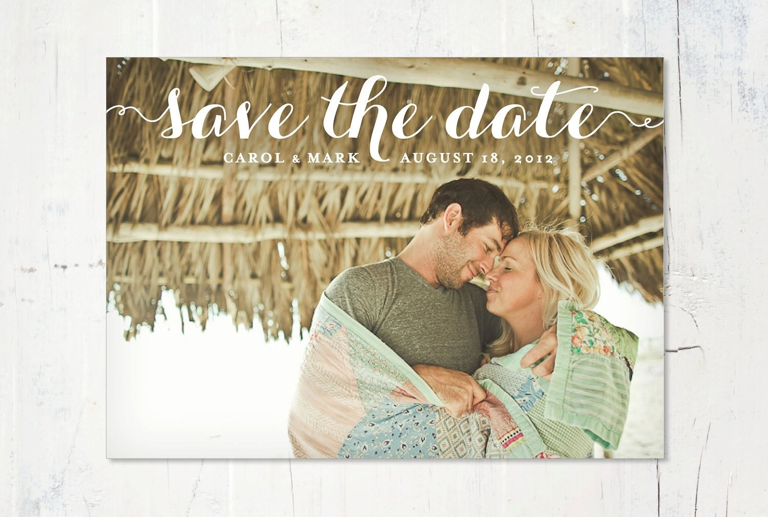 10 Perfect Save The Date Email Ideas uprinting save the date postcards giveaway 1
