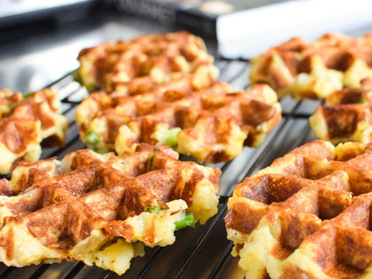 10 Unique Ideas For Leftover Mashed Potatoes use your waffle iron for incredible leftover mashed potatoes 2021